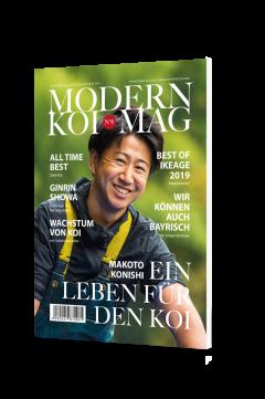 MODERN KOI MAG No.8 ab € 50,- wählbar*